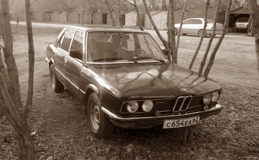 BMW 5er (E12) Хочу быть ALPINA!