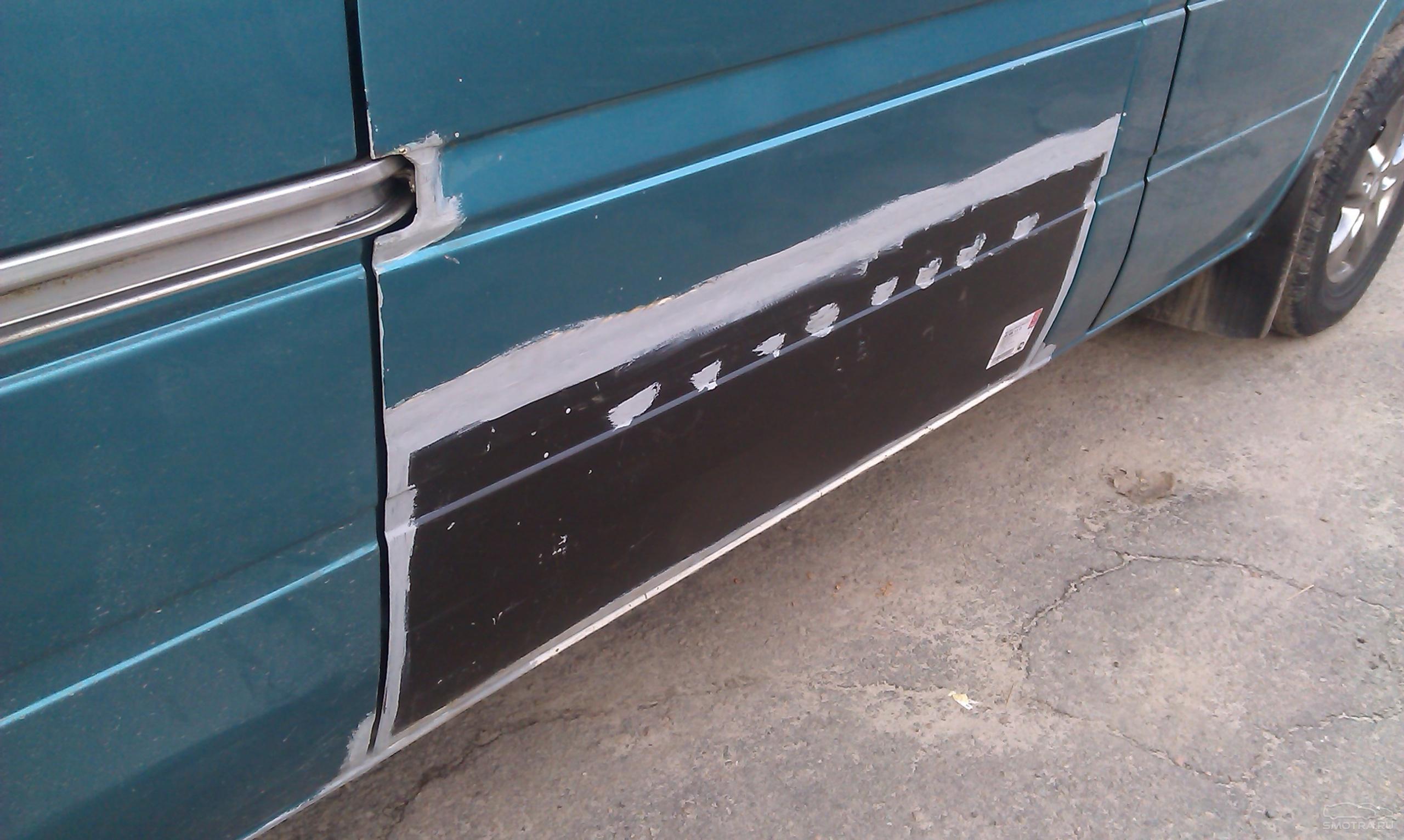 Покраска порогов своими руками - Кузовной ремонт автомобиля 49