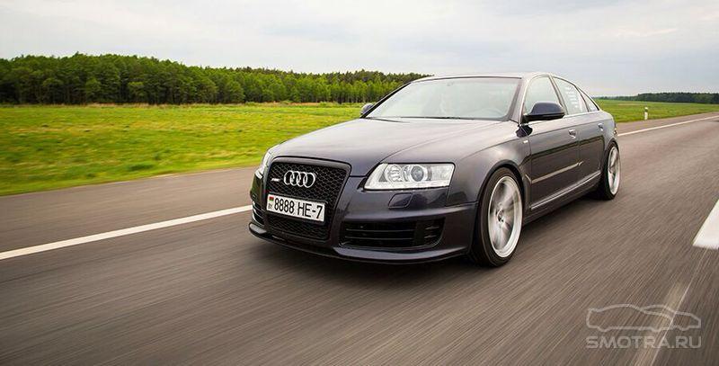 Audi A6 (4F,C6) кольца :)