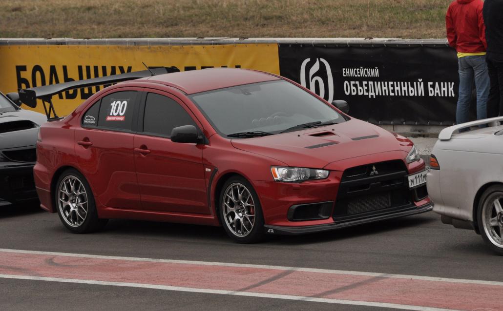 Mitsubishi Lancer Evolution X TimeAttack