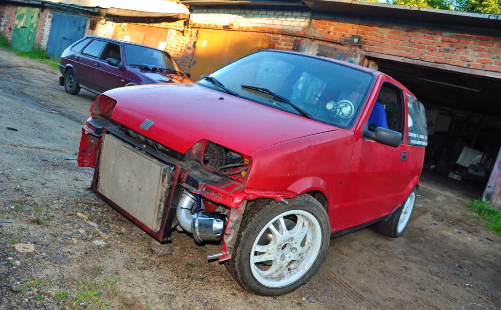 Fiat Cinquecento Fiat Cinquecento 2112 16v inside