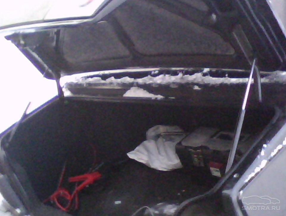 Своими руками багажник крышка 21099