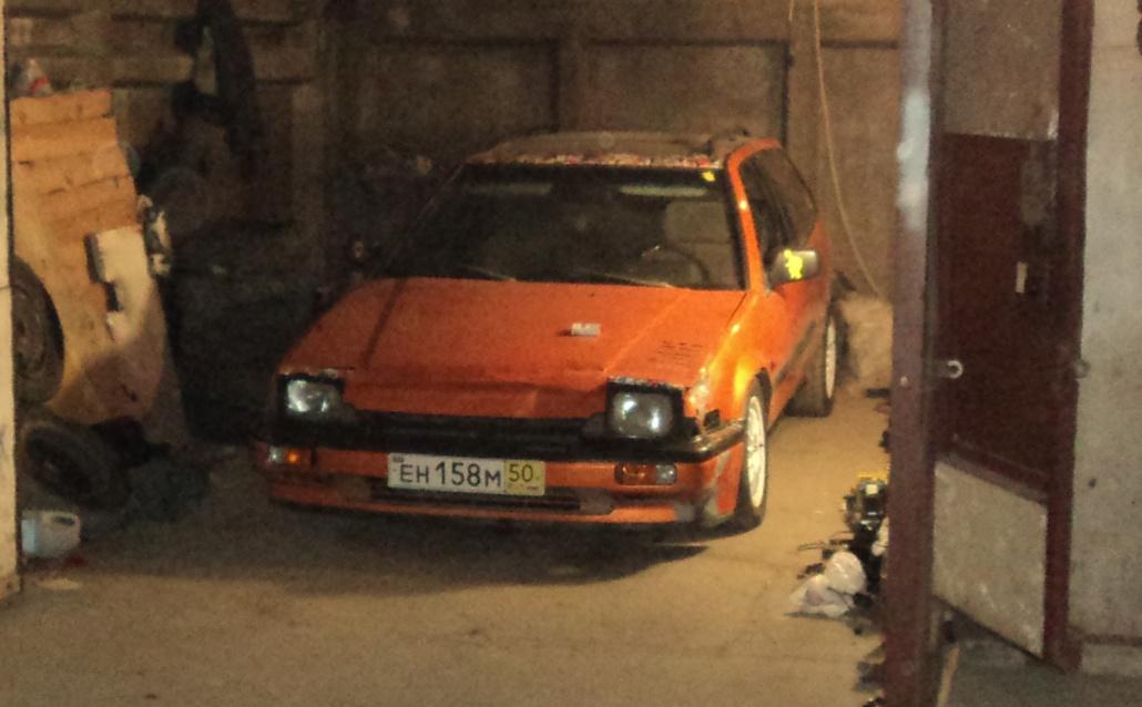 Honda Accord III Wagon CA5 оранжевый дроволёт