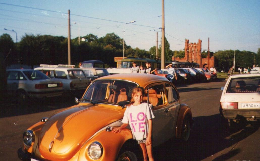 Volkswagen Kaefer Жучок