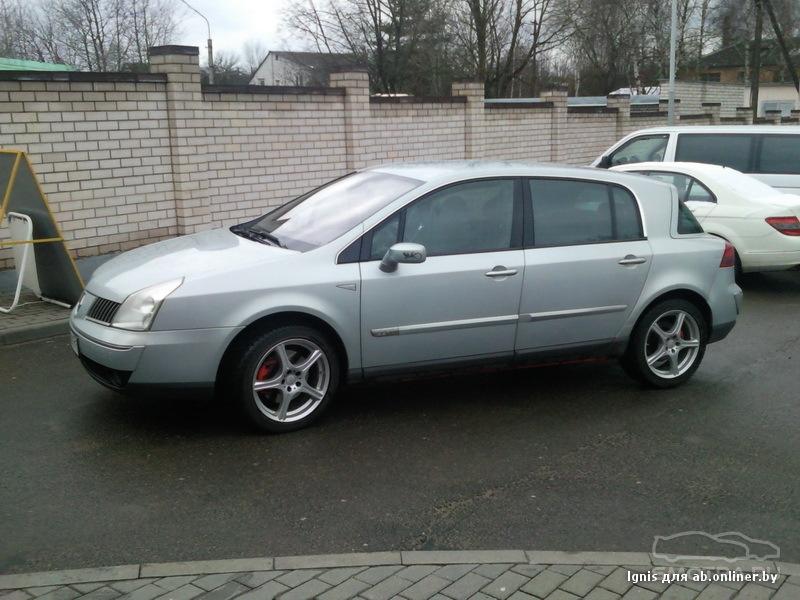 Renault Vel Satis Ласточка