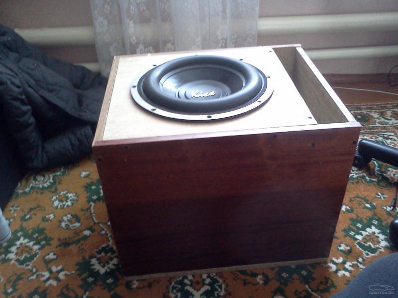 Короб для сабвуфера 10 дюймов 5