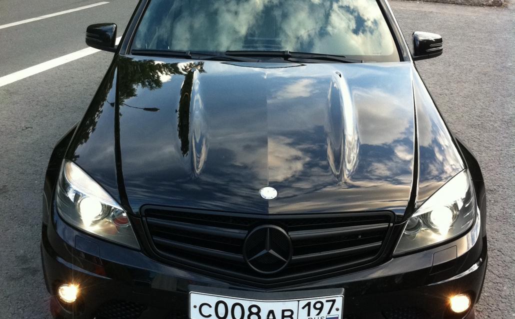 Mercedes-Benz C-klasse (W204) Черная Мамба