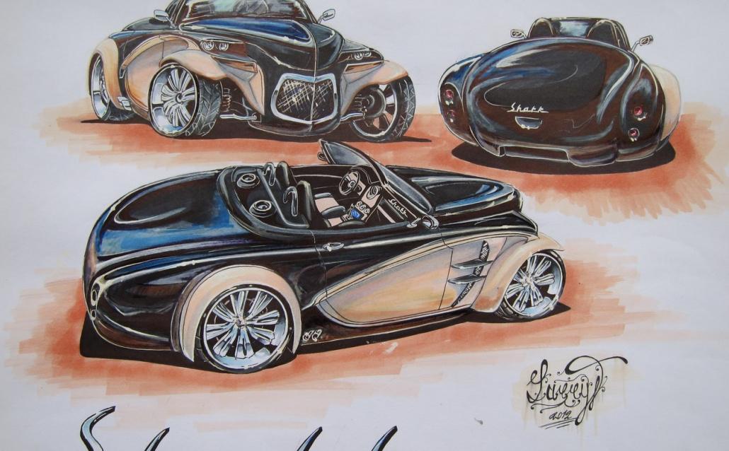 ГАЗ 20М Shark Roadster
