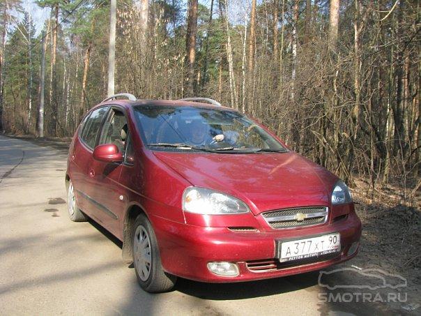 Chevrolet Rezzo Рэкс