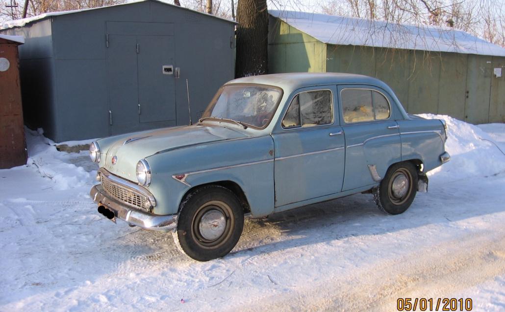 Москвич (АЗЛК) 403 Москвич (МЗМА)