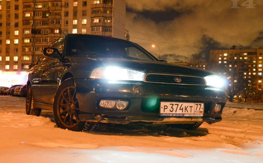 Subaru Legacy II (BD,BG) ЖАБА [думай, что сток]