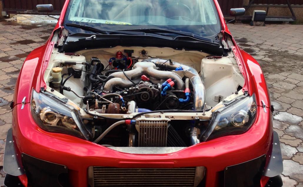 Subaru Impreza III Hatchback Покемон