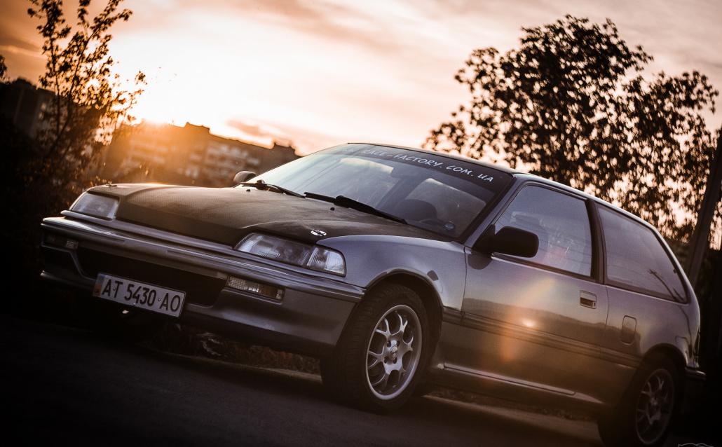 Honda Civic о__О ED6