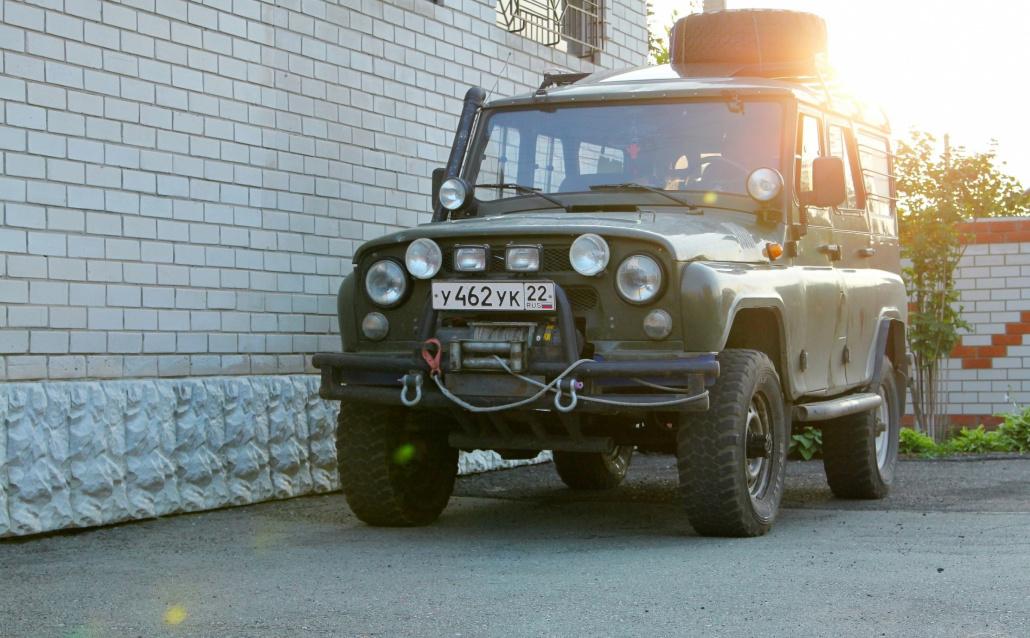 УАЗ 3151  Гаврюша