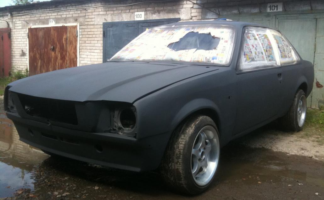 Opel Rekord E Слабак