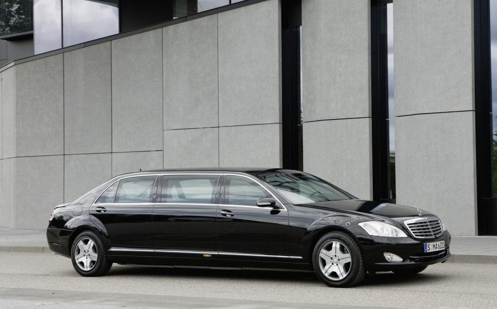 Mercedes-Benz Pullmann Рабочая