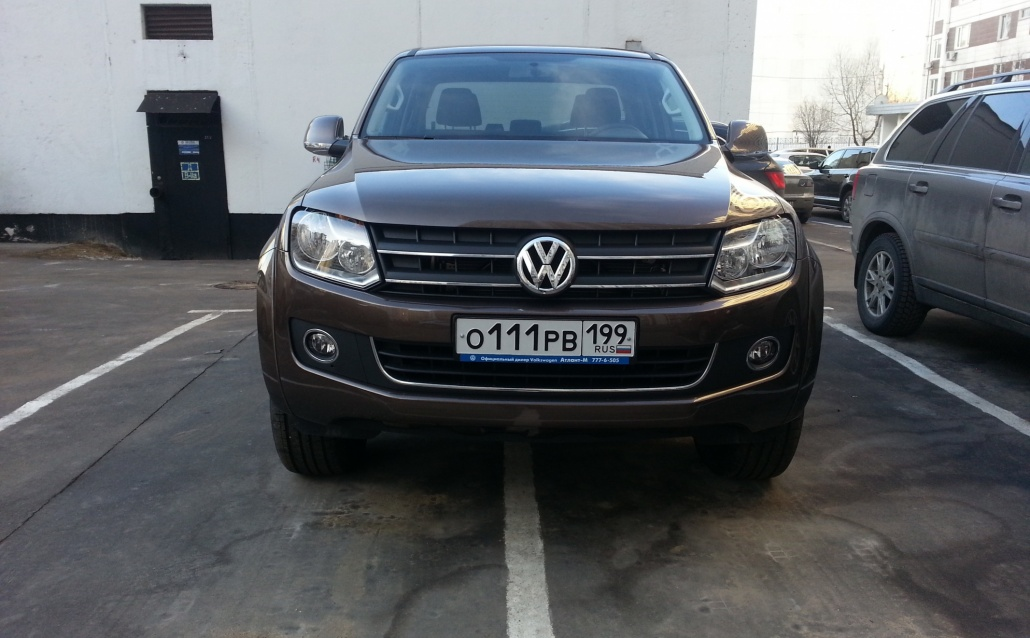 VW AMAROK 2.0biTDI: чоколатныйЗАИЦ?нет,говнянойВОЛК!