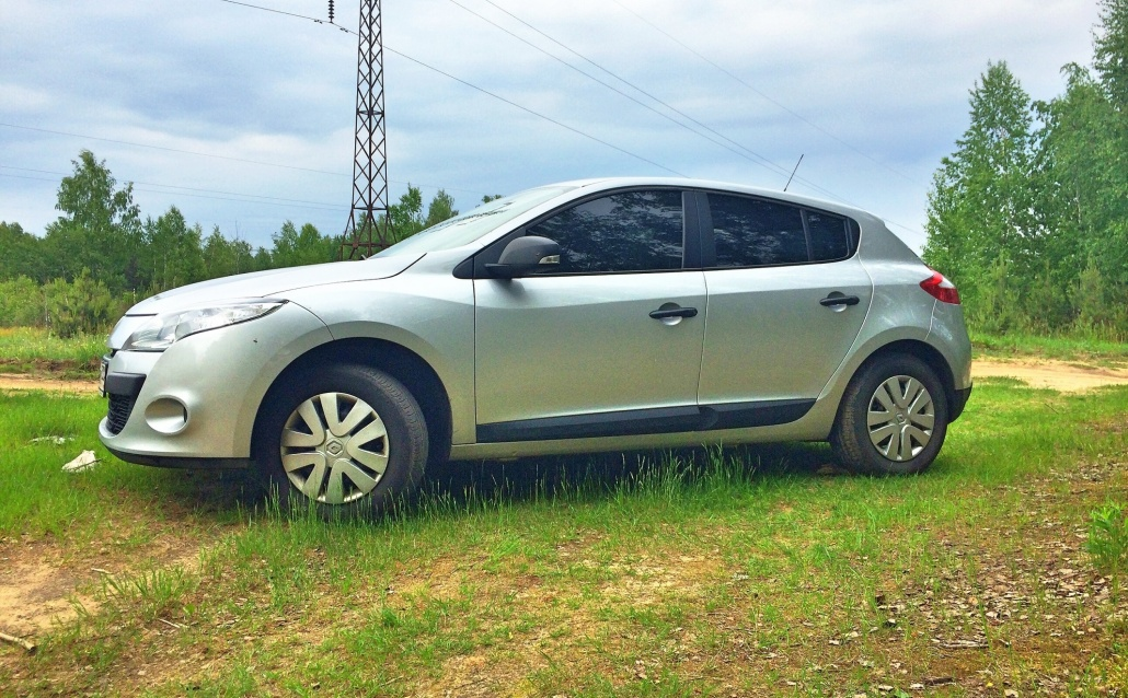 Renault Megane III Малютка