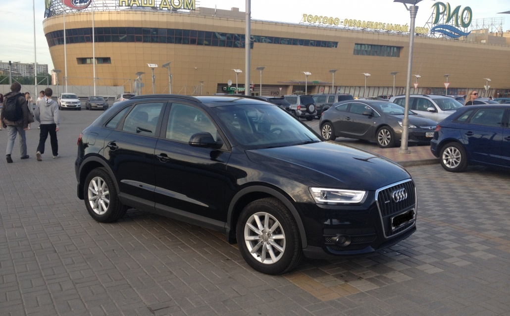 Audi Q3 Monster Green