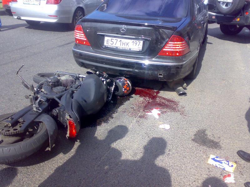 с фото мотоцикла аварии участием