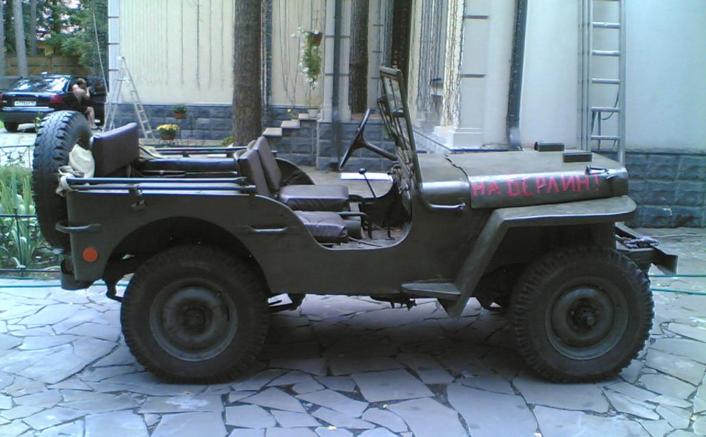 Jeep Wrangler I На Берлин
