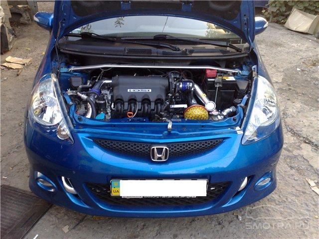 Honda Jazz I Синяя
