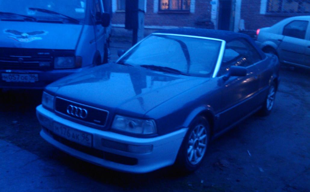 Audi Cabriolet (89) Единственный в городе