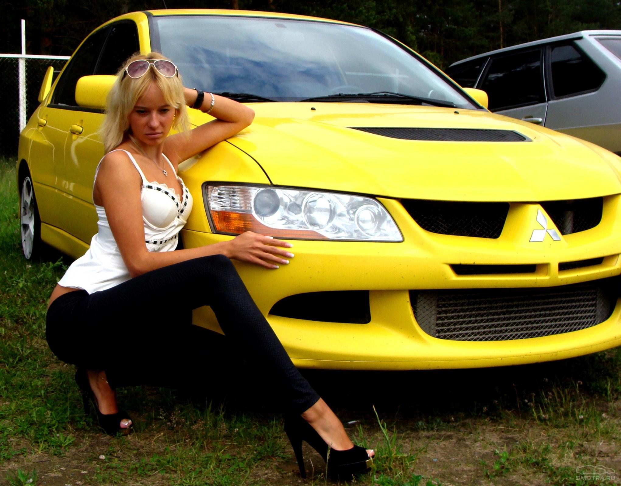 Фото машин и девушек машины русские