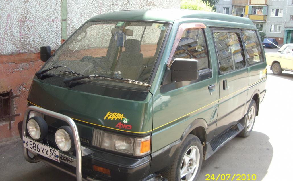 Nissan Vanette Чудо-вагончик