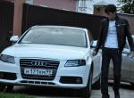 Audi A4 Белоснежка