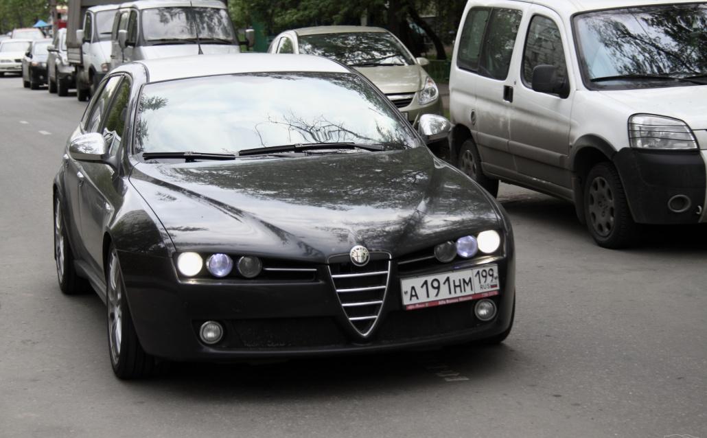 Alfa Romeo 159 Sportwagon Вагончик Ti