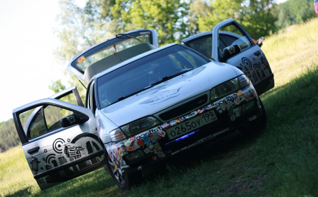 Nissan Almera I Hatchback (N15) #CraZy PlaNt#