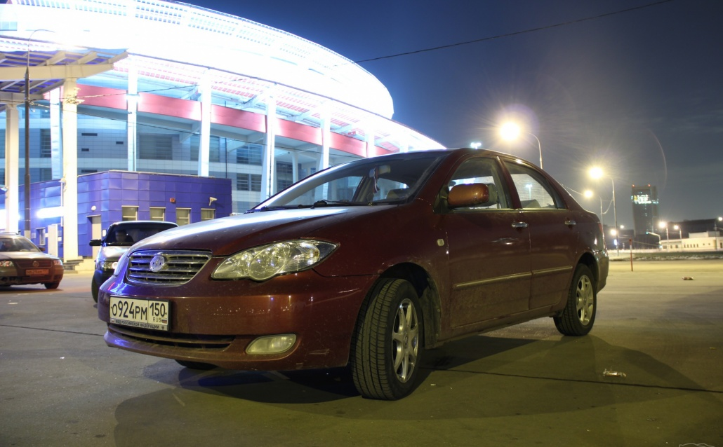 BYD F3 ЧИНА КАР)))