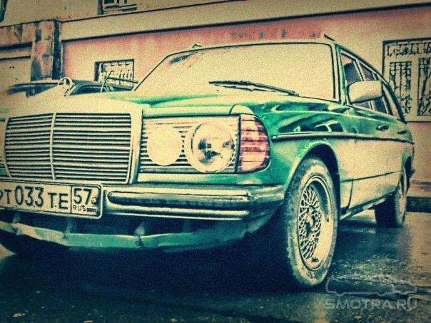Mercedes-Benz  T-mod. (S123) Gansta Муpззз