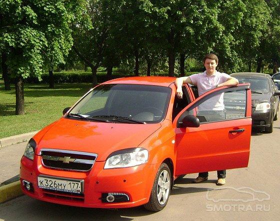Chevrolet Aveo Sedan Малыш