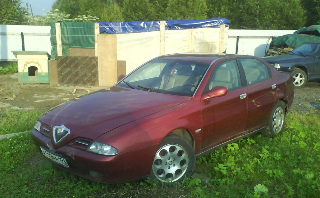 Alfa Romeo 166 (936) Моя ЛЯ-ЛЯ
