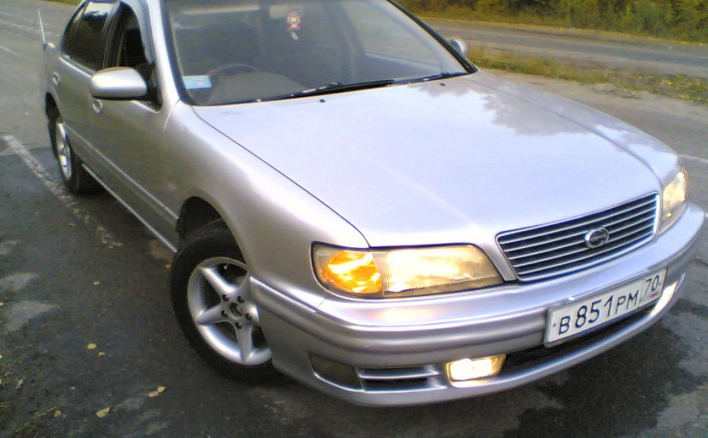 Nissan Cefiro (32) Silver_Pleasure
