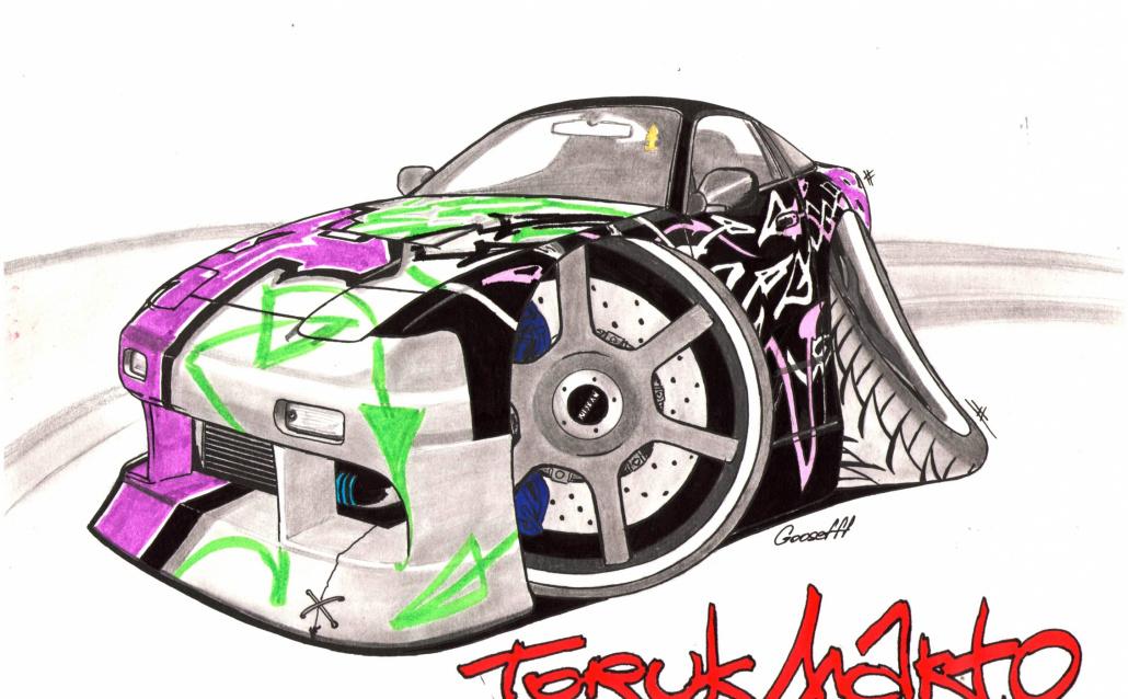 Nissan 200 SX (S13) Торук Макто