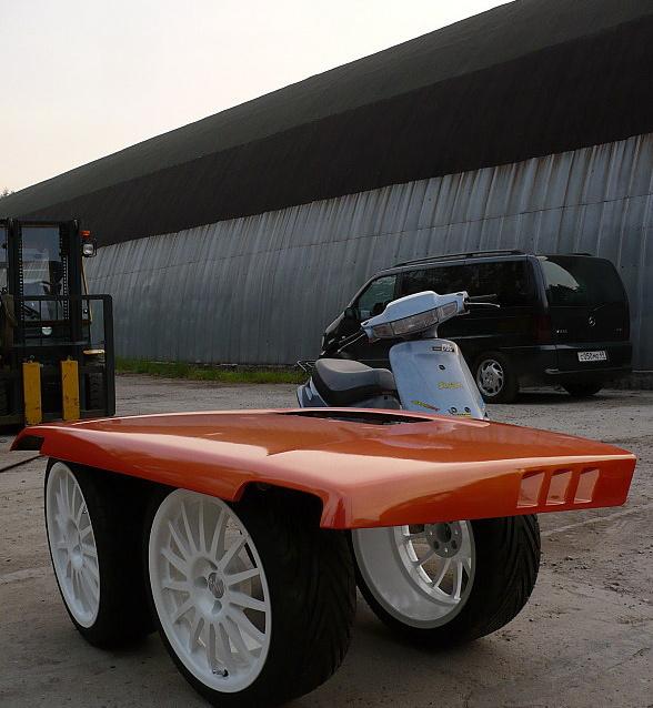 ВАЗ 21215 Projeсt Orangeвый ТраXтор