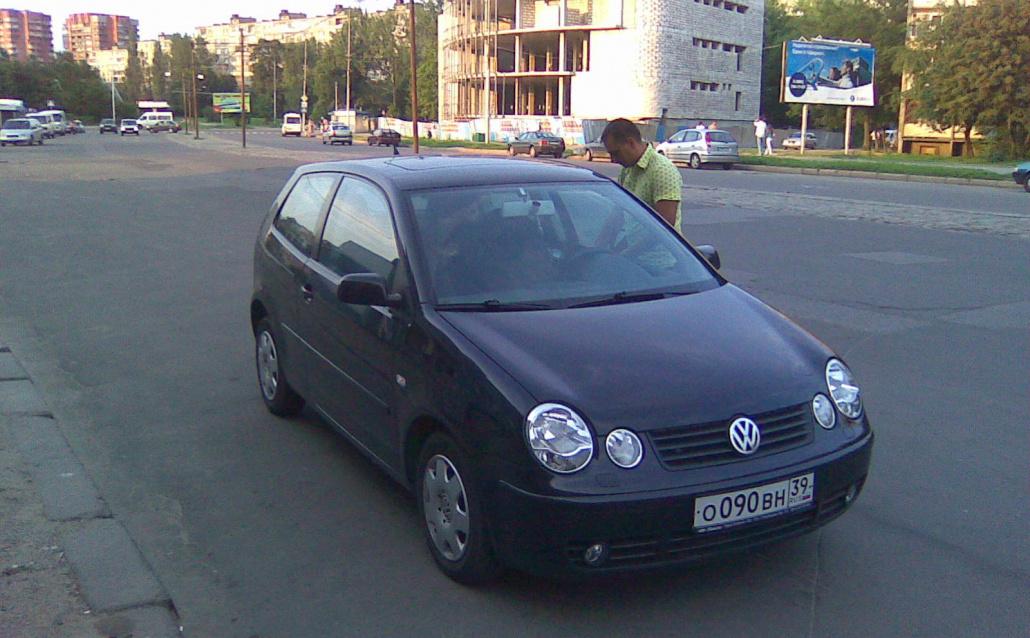 Volkswagen Polo IV (9N) Моя Брюнеточка))))Продала)))