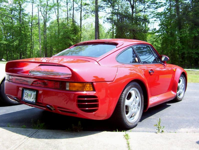 Porsche 959 фото.