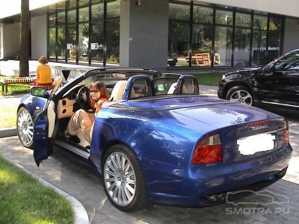 Maserati Spyder Дикий стиль и нереальная красота)
