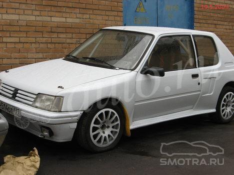 Peugeot 205 II (20A/C) Продана