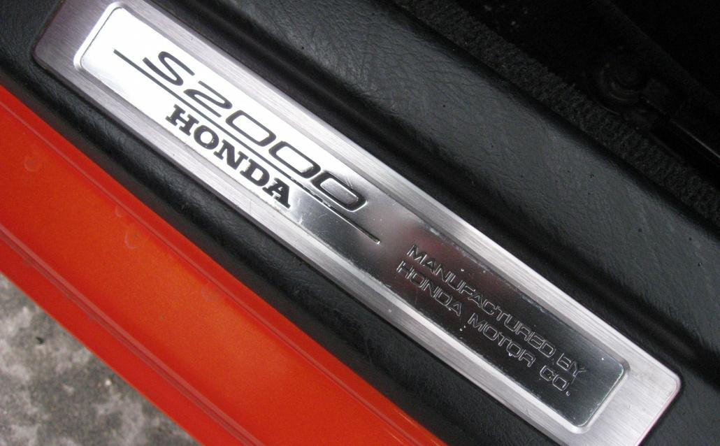Honda S2000 Мандарин