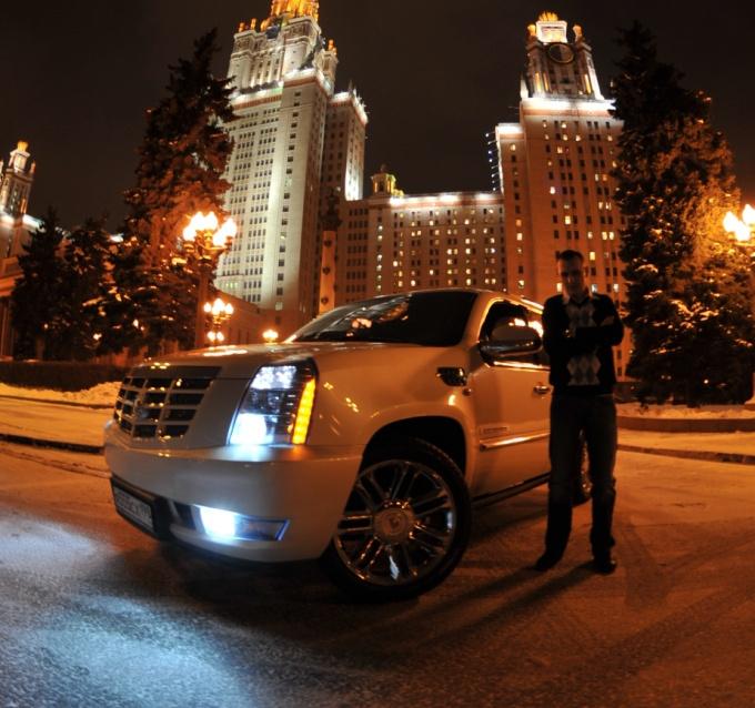 Cadillac Escalade PLATINUM :)