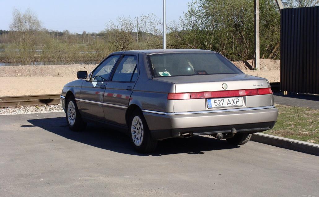 Alfa Romeo 164 Ska Car