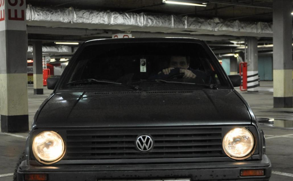 Volkswagen Golf II (19E) Ворон (Продан)