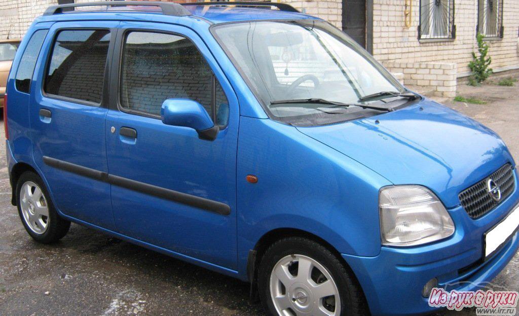 Opel Agila I AGILA