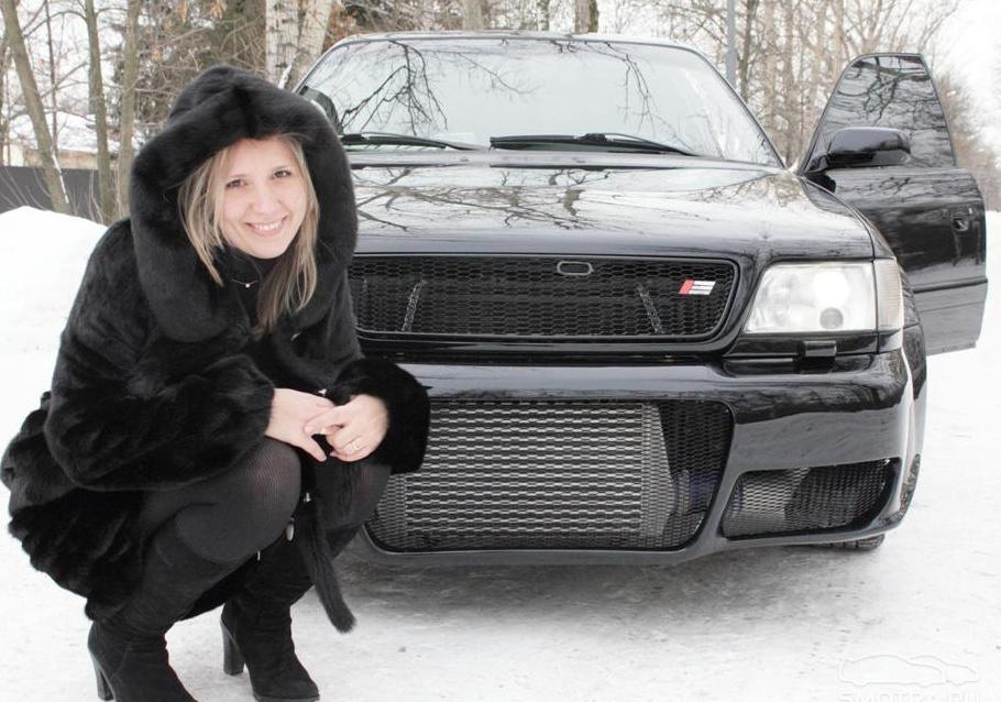 Audi S6 (4A,C4) чёрная бестия