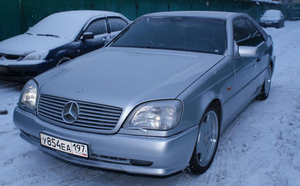 Mercedes-Benz CL-klasse (W140) Мурзик (Машина выходного дня)